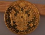 Австрия 4 дуката 1915 золото 13,98 грамм 986' фото 7