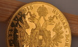 Австрия 4 дуката 1915 золото 13,98 грамм 986' фото 8