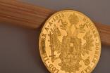 Австрия 4 дуката 1915 золото 13,98 грамм 986' фото 9