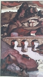 Картина, папір, картон, акварель, 40,5х29 см, фото №4