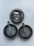 Набор Серебро кошачий глаз, фото №4