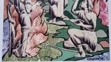 """Картина """"Овен"""", папір, акварель, туш, 42х31 см, фото №6"""