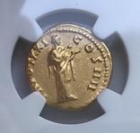 Ауреус 138-161 гг. н.э. Антонин Пий, фото №3