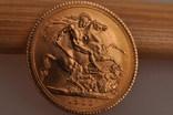 1 фунт (соверен) 1966 года. Великобритания фото 5