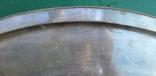 Большой мельхиоровый поднос. photo 7
