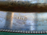 Большой мельхиоровый поднос. photo 10