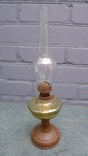 Стеклянная керамическая лампа. photo 1