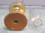 Стеклянная керамическая лампа. photo 7