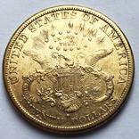 20 долларов 1882 года. (S, Сан-Франциско)