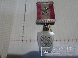 Масонская медаль знак масон 1889, фото №2