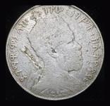 Эфиория 1 бирр 1889 серебро 28 грамм 835 пробы, фото №4