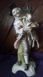 Старинная фарфоровая фигурка Мейссен с клеймом АвгустРекс, фото №6