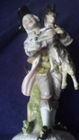 Старинная фарфоровая фигурка Мейссен с клеймом АвгустРекс, фото №8