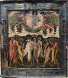 Икона «Вознесение Господне», кон. 17 века, круг мастеров «Оружейной палаты».