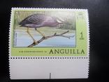 Фауна. Птицы. Ангилья.  марка   MNH, фото №2