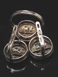 Кольцо и серьги,  позолота, фото №4