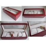 Шкатулка для хранения часов Craft 6WB.RED фото 2