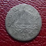 1 шиллинг 1765  Гамбург  серебро   (1.1.5)~, фото №2