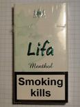 Сигареты LIFA MENTHOL