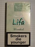 Сигареты LIFA MENTHOL фото 2