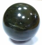 Шар из нефрита. Нефритовый шар. Шар из камня. Саянский нефрит., фото №4