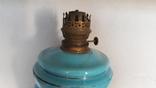 Старинная керосиновая лампа фото 2