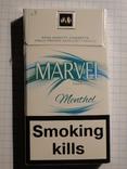Сигареты MARVEL MENTHOL фото 1