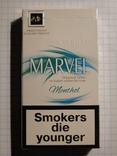 Сигареты MARVEL MENTHOL фото 2
