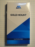 Сигареты GOLD MOUNT Superslims
