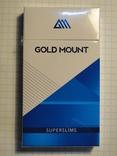 Сигареты GOLD MOUNT Superslims