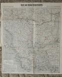 1915, Немецкая карта военных действий на Балканах,40*46см, фото №2