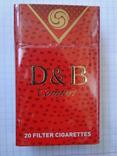 Сигареты D & B Comfort RED фото 2