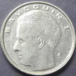 1 франк Бельгія 1990 Belgique, фото №3