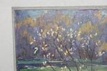 Антипов М.В. Весенний пейзаж. 1989. 60*60, фото №3