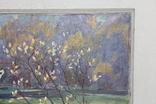 Антипов М.В. Весенний пейзаж. 1989. 60*60, фото №4
