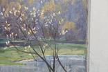 Антипов М.В. Весенний пейзаж. 1989. 60*60, фото №5
