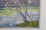 Антипов М.В. Весенний пейзаж. 1989. 60*60, фото №9