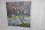 Антипов М.В. Весенний пейзаж. 1989. 60*60, фото №10
