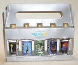 Коллекционные бутылочки 0.05л  набор VODKA.KZ, фото №2