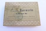 Стариная упаковка с пластинами воска Ruscher Belladi. Ges/ Gesch, фото №2