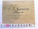 Стариная упаковка с пластинами воска Ruscher Belladi. Ges/ Gesch, фото №3