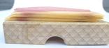 Стариная упаковка с пластинами воска Ruscher Belladi. Ges/ Gesch, фото №7