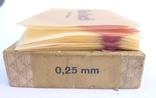 Стариная упаковка с пластинами воска Ruscher Belladi. Ges/ Gesch, фото №8