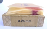 Стариная упаковка с пластинами воска Ruscher Belladi. Ges/ Gesch, фото №9