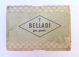 Стариная упаковка с пластинами воска Ruscher Belladi. Ges/ Gesch, фото №11