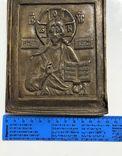 Икона-пластика бронза Деисус, фото №12