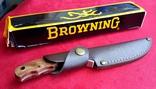 Нож Browning с кожаными ножнами. (Испания)