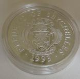 25 рупий 1992 года, Республика Сейшелы,'' Олимпийские игры, гимнастика'', фото №3