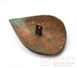 Большая пуговица с эмалью КР, дробница щитовидная , процветший крест крин, фото №6