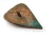 Большая пуговица с эмалью КР, дробница щитовидная , процветший крест крин, фото №8